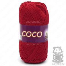 Пряжа COCO Vita Cotton - цвет № 3856 (Красный)