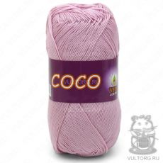 Пряжа COCO Vita Cotton - цвет № 3866 (Чайная роза)
