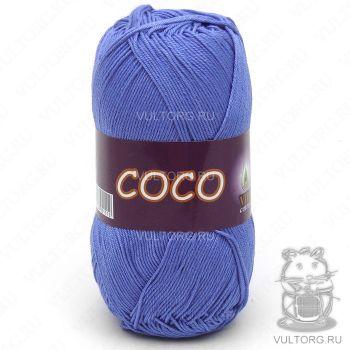 Пряжа COCO Vita Cotton - цвет № 3879 (Тёмно-голубой)