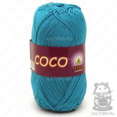 Пряжа Vita Cotton COCO, цвет № 4315 (Темно-зеленая бирюза)