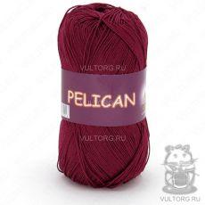 Пряжа Vita Cotton Pelican, цвет № 3955 (Винный)