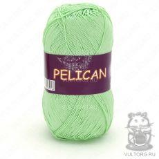 Пряжа Pelican Vita Cotton - цвет № 3964 (Светло-салатовый)