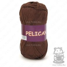 Пряжа Pelican Vita Cotton - цвет № 3973 (Светлый шоколад)