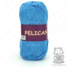 Пряжа Pelican Vita Cotton - цвет № 3981 (Голубая бирюза)