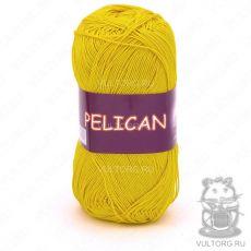 Пряжа Pelican Vita Cotton - цвет № 3998 (Жёлтый)