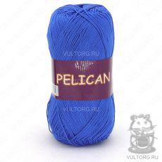 Пряжа Pelican Vita Cotton - цвет № 4000 (Ярко-голубой)