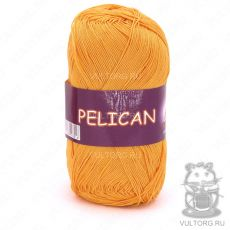 Пряжа Vita Cotton Pelican, цвет № 4007 (Желток)