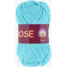 Пряжа Vita Cotton Rose, цвет № 3909 (Св. голубая бирюза)