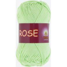 Пряжа Vita Cotton Rose, цвет № 3910 (Св. салатовый)