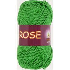Пряжа Vita Cotton Rose, цвет № 3935 (Молодая зелень)
