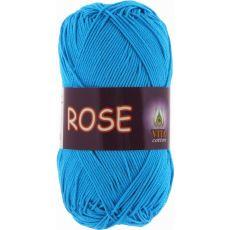 Пряжа Vita Cotton Rose, цвет № 3937 (Голубая бирюза)