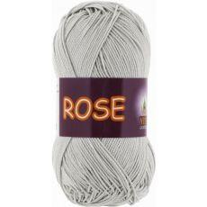 Пряжа Vita Cotton Rose, цвет № 3939 (Серебро)