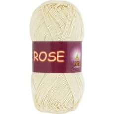 Пряжа Vita Cotton Rose, цвет № 3950 (Экрю)