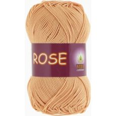 Пряжа Vita Cotton Rose, цвет № 4253 (Крем-брюле)