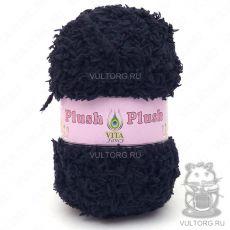 Пряжа Plush Vita Fancy - цвет № 5302 (Чёрный)