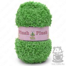Пряжа Plush Vita Fancy - цвет № 5304 (Зелёный)