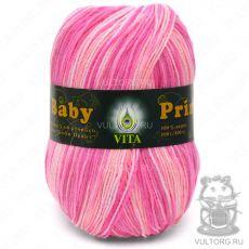 Пряжа Baby Print Vita, цвет № 4890 (Розовый)