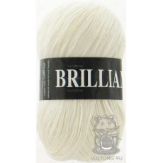 Пряжа Vita Brilliant, цвет № 4951 (Белый)