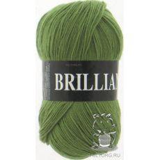 Пряжа Vita Brilliant, цвет № 4959 (Светло-оливковый)