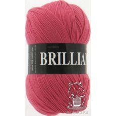 Пряжа Vita Brilliant, цвет № 4960 (Темно-красный коралл)