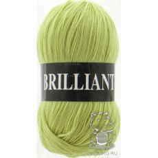 Пряжа Vita Brilliant, цвет № 4962 (Желто-зеленый)