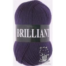 Пряжа Vita Brilliant, цвет № 4977 (Темно-фиолетовый)