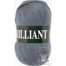 Пряжа Vita Brilliant, цвет № 4980 (Серый)