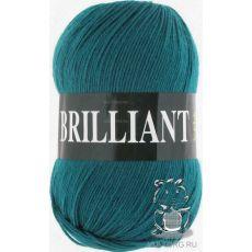 Пряжа Vita Brilliant, цвет № 4981 (Темно-зеленая бирюза)