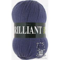Пряжа Vita Brilliant, цвет № 4982 (Темно-серо голубой)