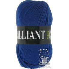 Пряжа Vita Brilliant, цвет № 4989 (Синий сапфир)