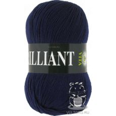 Пряжа Vita Brilliant, цвет № 4990 (Темно-синий)