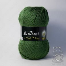 Пряжа Vita Brilliant, цвет № 5111 (Зеленый)