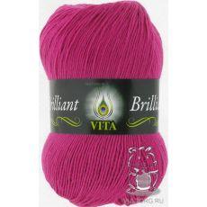 Пряжа Vita Brilliant, цвет № 5119 (Фуксия)