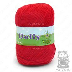 Пряжа Dolly Vita, цвет № 3217 (Ярко-красный)