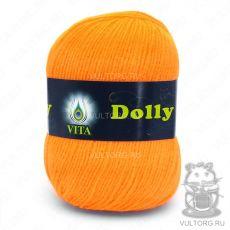 Пряжа Dolly Vita, цвет № 3218 (Ультра оранжевый)