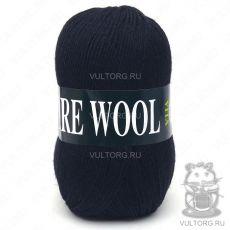 Пряжа Pure Wool Vita, цвет № 1752 (Чёрный)