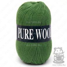 Пряжа Pure Wool Vita, цвет № 1755 (Зелёный)