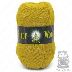 Пряжа Pure Wool Vita, цвет № 1756 (Светлое золото)