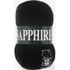 Пряжа Vita Sapphire, цвет № 1502 (Черный)