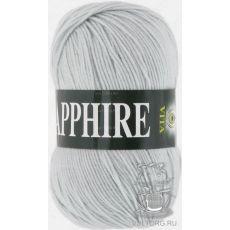 Пряжа Vita Sapphire, цвет № 1515 (Серебро)