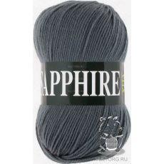 Пряжа Vita Sapphire, цвет № 1516 (Темно-серый)