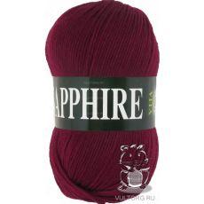 Пряжа Vita Sapphire, цвет № 1519 (Бордовый)