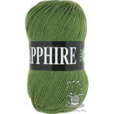 Пряжа Vita Sapphire, цвет № 1520 (Зеленый)