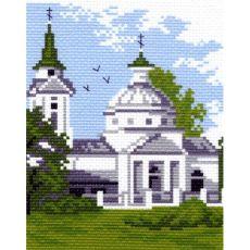 Церковь (16х20)