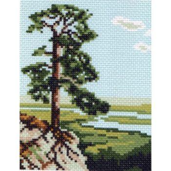 Дерево у обрыва (16х20)