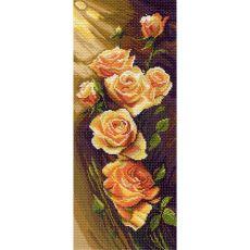 Жёлтые розы (24х47)