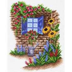 Окно в сад (28х37)