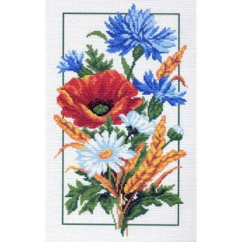 Полевые цветы (28х37)