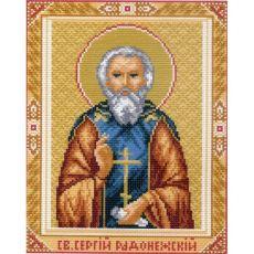 Св. Сергий Радонежский (28х37)