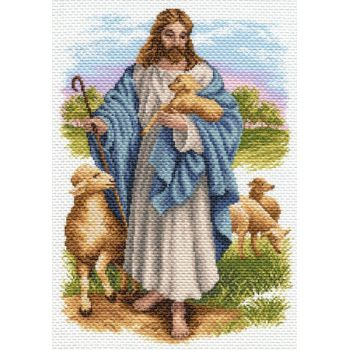 Иисус с барашком (37х49)